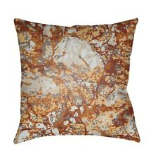 Textures by Surya Pillow, Rust/Wheat/Red, 22' x 22' - TX021-2222