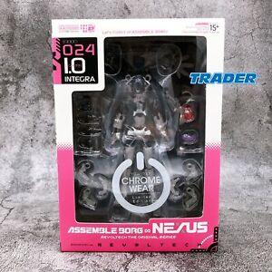Revoltech Assemble Borg NEXUS 024 I.O Integra Action Figure KAIYODO *FASTSHIP