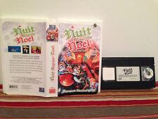 La nuit magique de noel   VHS & clamshell case FRENCH  vvs films RARE