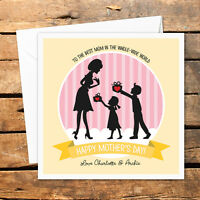 Personalised Handmade Happy Birthday Card For Mum Grandma Nanny Gift Love