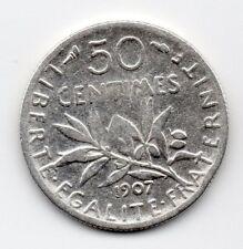 France - Frankrijk - 50 Centime 1907
