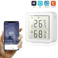 Smart Home APP Control Wireless Temperature Humidity WIFI LCD Sensor T2L0