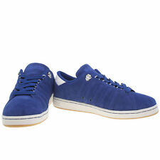 K SWISS LOZAN MENS BLUE SUEDE CASUAL LACE UPS SPORTS TRAINERS SIZE 7