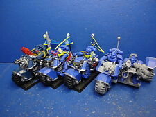 3 vélos + Trike des space marines
