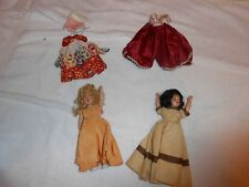 LOT OF 2 DOLLS - VINTAGE DUCHESS COPYRIGHT 1948 w/4 OUTFITS