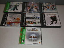Final Fantasy 7 8 9 Chronicles Anthology Origins Tactics PS1 Lot VII VIII IX RPG