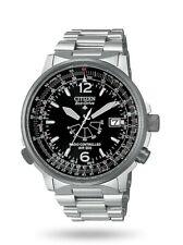 Orologi da uomo Citizen Radiocontrollato Pilot Acciaio AS2020-53E NUOVO