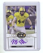 MIKE MITCHELL - Ohio State / Texas Tech - 2013 Leaf Army Certified AUTOGRAPH RC