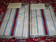 New Ralph Lauren Two European Shams- Marrakesh Stripe 26X26""