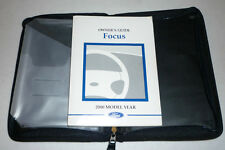 2000 FORD FOCUS OWNERS MANUAL SET 00 w/case