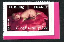 STAMP / TIMBRE FRANCE NEUF N° 3804 ** NAISSANCE / C'EST UNE FILLE / ISSUS CARNET