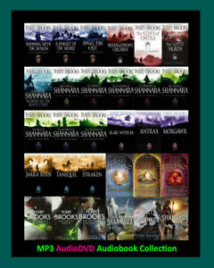 The SHANNARA Series By Terry Brooks ~ 32 MP3 Audiobook Collection