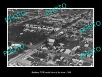 OLD LARGE HISTORIC PHOTO OF BATHURST NSW AERIAL VIEW OF THE TOWN c1940 1