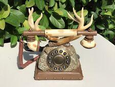 VTG Western Antler Push Bottom Telephone -Collectable
