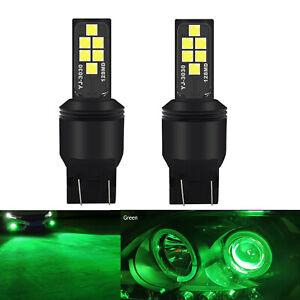 7443 15w High Super Bright Car LED Bulbs 303012SMD Turn Signal Brake Tail Lights