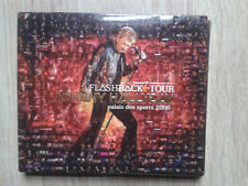 Johnny Hallyday Flashback Tour 2 CD Edition collector Dépliant 6 volets