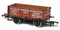 Oxford Rail 76MW4010 OO Gauge 4 Plank Wagon Calico Printers