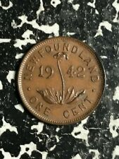 1942 Newfoundland Small Cent Lot#L2944 Nice!