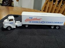 Ertl Chevy Tractor & Trailer Bank The Heartbeat of America Todays Chevrolet