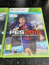 Pro Evolution Soccer PES 2018 Microsoft Xbox 360 Game