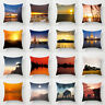 Cushion Pillow Throw Decor Case 18'' Waist Polyester Sofa Home Cover