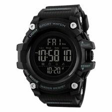 SKMEI Mens Multi-function Calendar Watches Fashion Digital Wristwatch 1384 Black