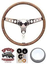 """Fits all cars 1965-1969 Mercury steering wheel 13 1/2"""" CLASSIC WALNUT"""