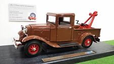 FORD  Pick Up WRECKER 1934 Dépanneuse 1/18 YAT MING 92257 voiture miniature