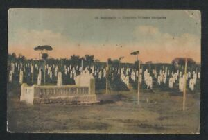 Lebanon BEIRUT Senegalese Military Cemetery old Picture Postcard