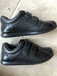 Camper Boys Leather School Shoes Size 2.5 35 With Box