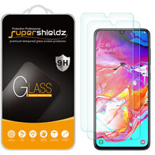 [2-Pack] Supershieldz Tempered Glass Screen Protector for Samsung Galaxy A70