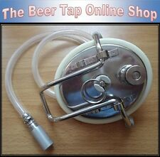 Carbonating Lid with Hose & Carbonation Stone for Corny/Cornelius Ball Lock Kegs