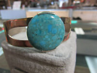 .925 Silver Turquoise Cuff Bracelet
