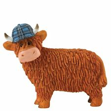 Border Fine Arts Hairy Coos Aaron Highland Cow Figurine Boxed A27687