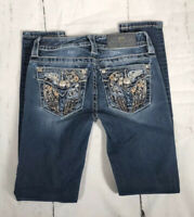 Miss Me Women's Signature Ankle Skinny Jeans Size 24x29 *