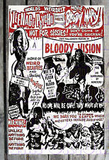 Teenage Psycho Meets Bloody Mary Bloody Vision Spook Show Poster Reprint #20