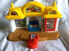 FISHER PRICE Little People Corner Market Grocery Store ~No People Included~ EUC