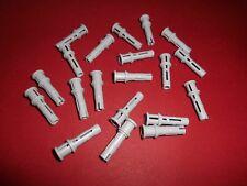 LEGO TECHNIC (32054) 20 pinne con stopper, in grigio chiaro da 9398 8043 8275 8421