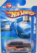HOT WHEELS 2008 KMART Mailed in '56 CHEVY NOMAD USINE scellé W+