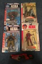 Mcfarlane Akira figure set, Kaneda, Akira, Joker, Tetsuo and Kaneda bike