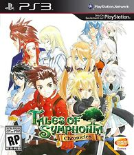Tales of Symphonia Chronicles [PlayStation 3 PS3, JRPG, 2-Games] NEW