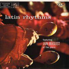 jan august LATIN RHYTHMS u.s. MERCURY LP  MG-20274_orig 1957_