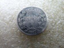 rare demi franc Louis XVIII 1817 K réf FA 01