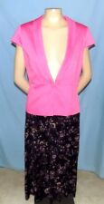 Versatile Sag Harbor Purple Print Skirt Size Petite Medium (Estimate 10P/12P)