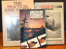 Set of 3 Photography Books  1 st Book  Zone 6 Workshop By Fred Picker etc.