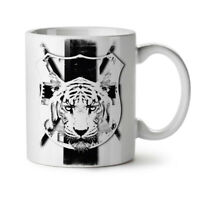Tiger Calm Face Animal NEW White Tea Coffee Mug 11 oz | Wellcoda