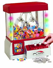 Electronic Claw Machine LED Lights Candy Grabber Arcade Kid Toy Music Crane Home