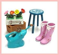Re-ment Storage Beauty No.9 -Rubber boots watering can,plants etc