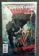 DC New 52 Justice League United #3 Variant NM Sept 2014