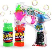Juguete De Burbujas De Jabon Con Luces - Burbujas De Jabon - 2 Botellas Burbujas